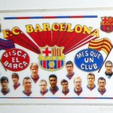 Coleccionismo deportivo: CALENDARIO DE BOLSILLO. ANTIGUO FÚTBOL FC BARCELONA 1994 DREAM TEAM - KOEMAN LAUDRU - PLASTIFICADO. Lote 156853306