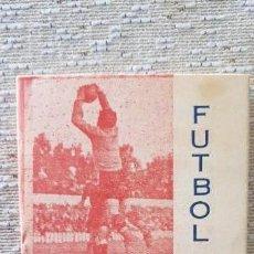 Coleccionismo deportivo: SEVILLA- CALENDARIO DE FÚTBOL 1951-52 PUBLICIDAD FELIX FERNÁNDEZ- REPUESTOS DE VEHÍCULOS . Lote 157194614