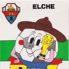 Collectionnisme sportif: CALENDARIO DE BOLSILLO - ELCHE CLUB DE FUTBOL - 1982. Lote 159061170