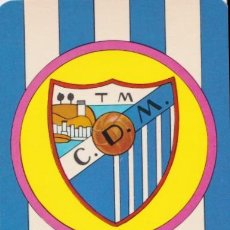Collectionnisme sportif: CALENDARIO DE BOLSILLO - CLUB DEPORTIVO MALAGA - 1975. Lote 159061250