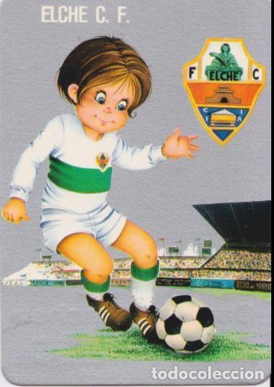 CALENDARIO DE BOLSILLO - ELCHE CLUB DE FUTBOL - 1977 (Coleccionismo Deportivo - Documentos de Deportes - Calendarios)