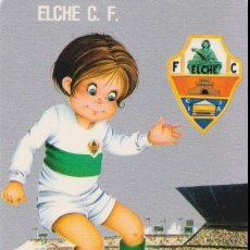 Coleccionismo deportivo: CALENDARIO DE BOLSILLO - ELCHE CLUB DE FUTBOL - 1977. Lote 159061286