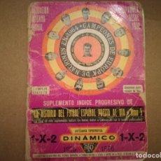 Coleccionismo deportivo: DINAMICO 1975/76. Lote 159292838
