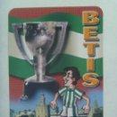 Coleccionismo deportivo: CALENDARIO DE BOLSILLO DE 2007 : REAL BETIS BALOMPIE , BETICO. Lote 160234966