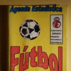 Coleccionismo deportivo: CALENDARIO DINÁMICO - PRIMERA Y SEGUNDA DIVISIÓN FUTBOL LIGA 2000-01 - AGENDA AGENBOL C/ RESULTADOS. Lote 161307138
