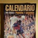 Coleccionismo deportivo: CALENDARIO ESTADISTICO DINÁMICO - 1ª Y 2º DIVISIÓN FUTBOL LIGA 1999-2000 - DON BALÓN - C/ RESULTADOS. Lote 161307418