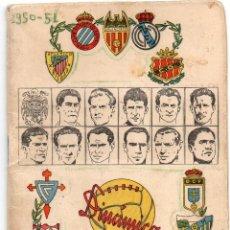 Coleccionismo deportivo: CALENDARIO 1950, DE DINÁMICO. Lote 161759430