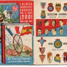Coleccionismo deportivo: CALENDARIO DINAMICO 1958,. Lote 162150734