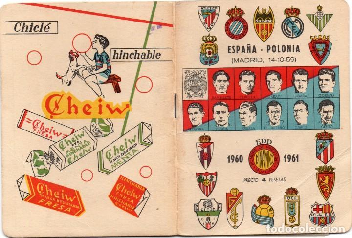 CALENDARIO DINAMICO 1960, (Coleccionismo Deportivo - Documentos de Deportes - Calendarios)