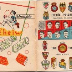 Coleccionismo deportivo: CALENDARIO DINAMICO 1960,. Lote 162557494