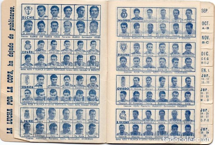 Coleccionismo deportivo: CALENDARIO DINAMICO 1960, - Foto 3 - 162557494