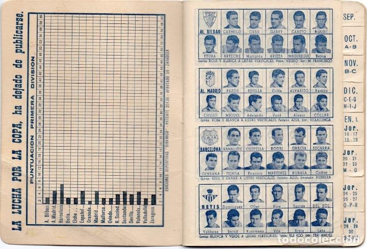 Coleccionismo deportivo: CALENDARIO DINAMICO 1960, - Foto 2 - 162557494