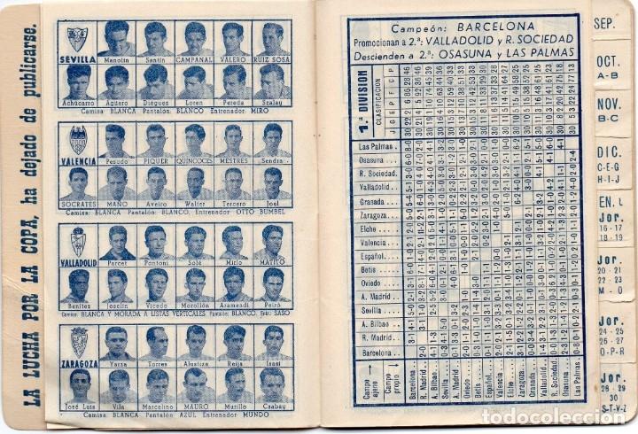 Coleccionismo deportivo: CALENDARIO DINAMICO 1960, - Foto 4 - 162557494