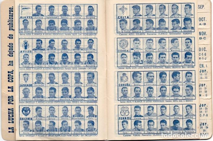 Coleccionismo deportivo: CALENDARIO DINAMICO 1960, - Foto 5 - 162557494