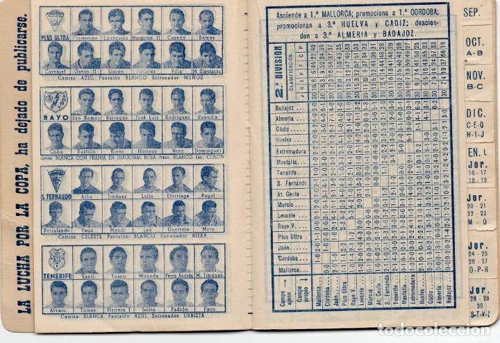 Coleccionismo deportivo: CALENDARIO DINAMICO 1960, - Foto 9 - 162557494