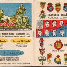 Coleccionismo deportivo: CALENDARIO DINÁMICO, PARA EL 1961,. Lote 162865786