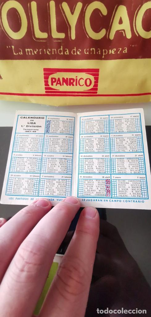Coleccionismo deportivo: CALENDARIO FÚTBOL 1ª DIVISIÓN LIGA TEMPORADA 1967 1968 - Foto 2 - 165174074