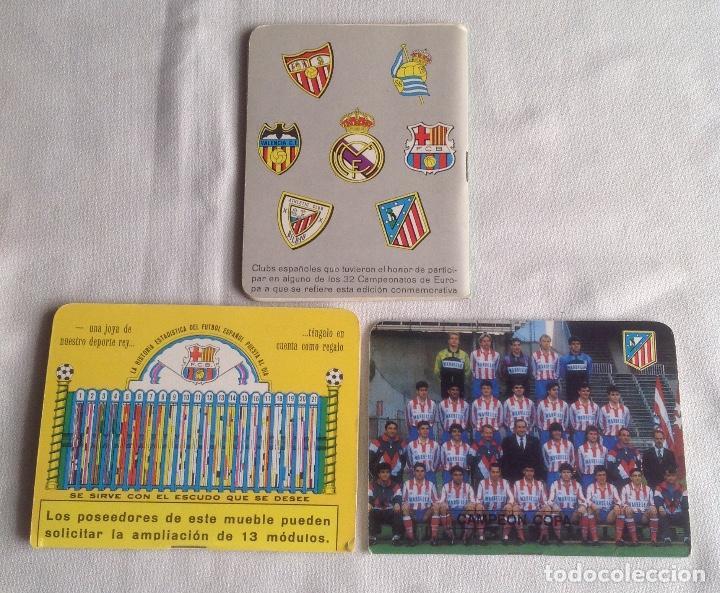 Coleccionismo deportivo: LOTE DINÁMICO APÉNDICE 16 COPA EUROPA DE CAMPEONES LIGA Y LIGA 1991-1992 CON SUPLEMENTO - Foto 5 - 165252234