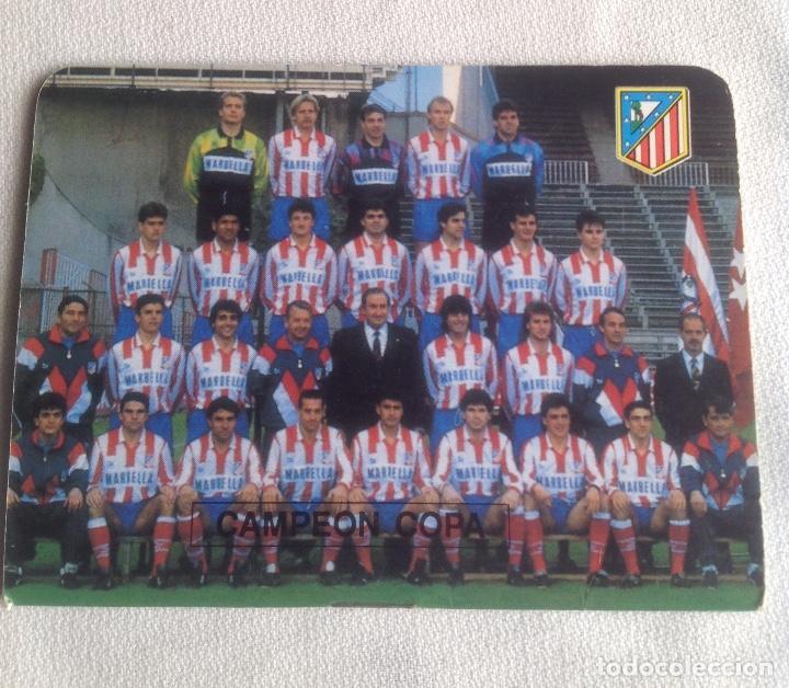 Coleccionismo deportivo: LOTE DINÁMICO APÉNDICE 16 COPA EUROPA DE CAMPEONES LIGA Y LIGA 1991-1992 CON SUPLEMENTO - Foto 8 - 165252234
