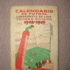 Coleccionismo deportivo: FUTBOL 1.948/9. Lote 166051322