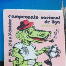 Coleccionismo deportivo: CAMPEONATO NACIONAL DE LIGA 78-79. Lote 167504252