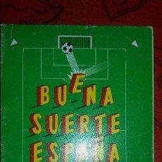 Coleccionismo deportivo: CALENDARIO DEL MUNDIAL DE FÚTBOL ESPAÑA 1982. Lote 168418149