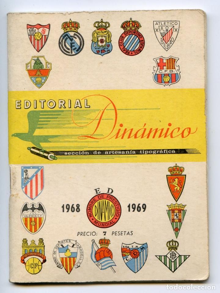 CALENDARIO EDITORIAL DINÁMICO 1968 1969 (Coleccionismo Deportivo - Documentos de Deportes - Calendarios)