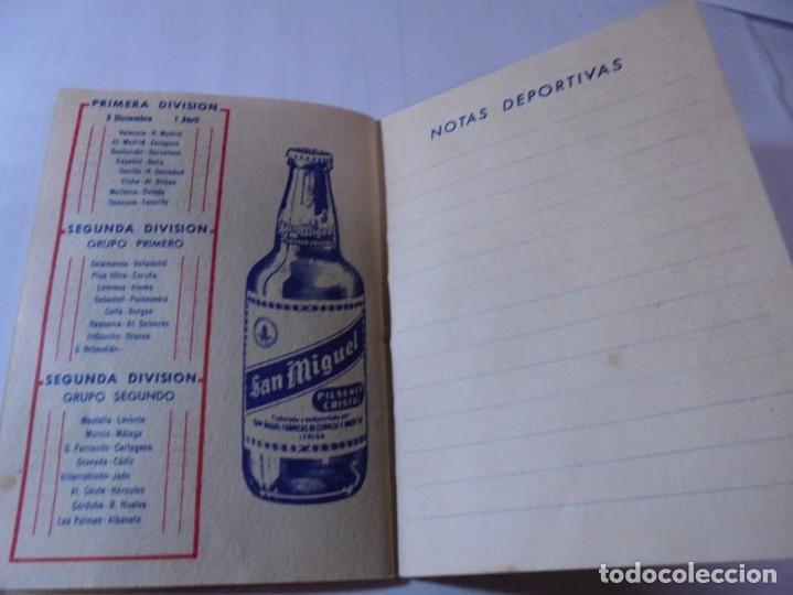 Coleccionismo deportivo: magnifico antiguo calendario del campeonato de liga 1961-62 - Foto 7 - 172966557