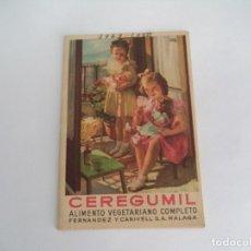 Coleccionismo deportivo: CALENDARIO DEPORTIVO.TEMPORADA 1949-50.PUBLICIDAD CEREGUMIL. Lote 173163982