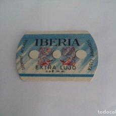 Coleccionismo deportivo: CALENDARIO DEPORTIVO.TEMPORADA 1946-47.PUBLICIDAD CUCHILLAS AFEITAR IBERIA.. Lote 173165777