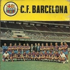 Coleccionismo deportivo: C F BARCELONA CALENDARIO 1973 FUTBOL. Lote 173425663