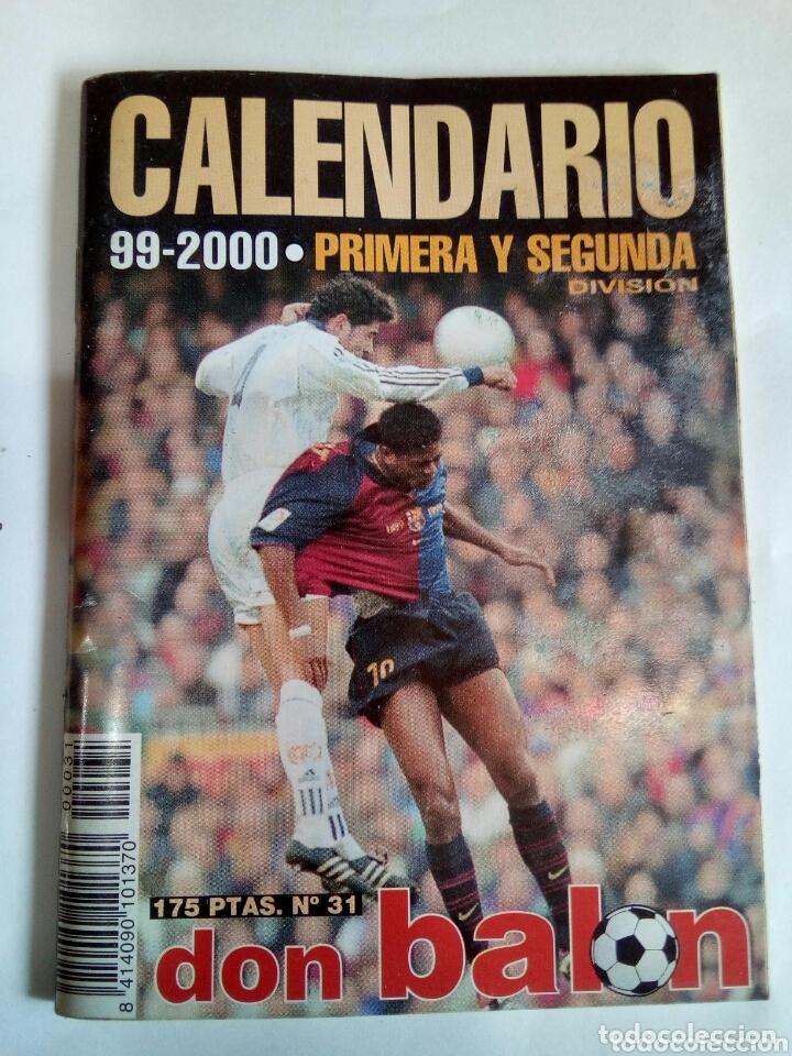CALENDARIO 99-2000 (Coleccionismo Deportivo - Documentos de Deportes - Calendarios)