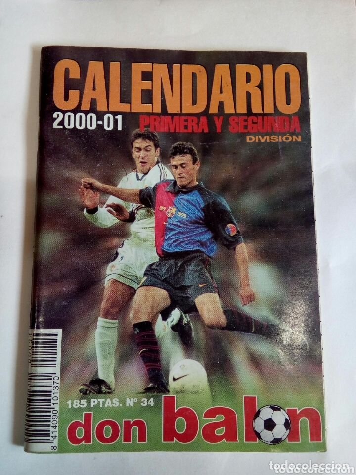 CALENDARIO 2000-01 (Coleccionismo Deportivo - Documentos de Deportes - Calendarios)