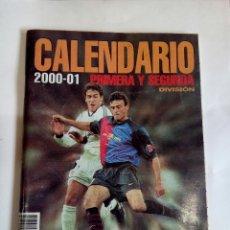 Coleccionismo deportivo: CALENDARIO 2000-01. Lote 174251188