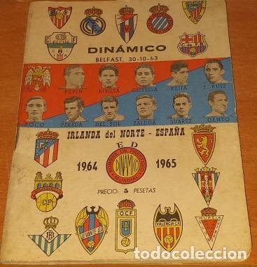 CALENDARIO DINAMICO TEMPORADA 1962-1963 CALENDARIO DE FUTBOL PRACTICO DINAMICO 1962--1963 (Coleccionismo Deportivo - Documentos de Deportes - Calendarios)