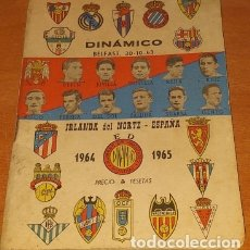 Coleccionismo deportivo: CALENDARIO DINAMICO TEMPORADA 1962-1963 CALENDARIO DE FUTBOL PRACTICO DINAMICO 1962--1963. Lote 174973412