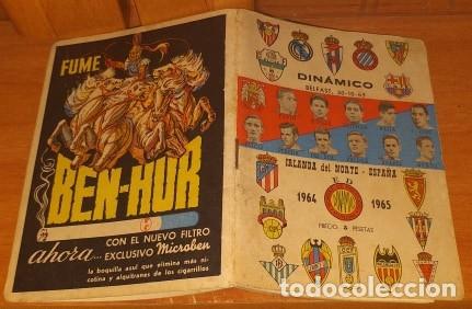 Coleccionismo deportivo: CALENDARIO DINAMICO TEMPORADA 1962-1963 CALENDARIO DE FUTBOL PRACTICO DINAMICO 1962--1963 - Foto 2 - 174973412