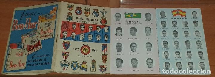 Coleccionismo deportivo: CALENDARIO DINAMICO TEMPORADA 1962-1963 CALENDARIO DE FUTBOL PRACTICO DINAMICO 1962--1963 CON SUPLEM - Foto 2 - 174974715