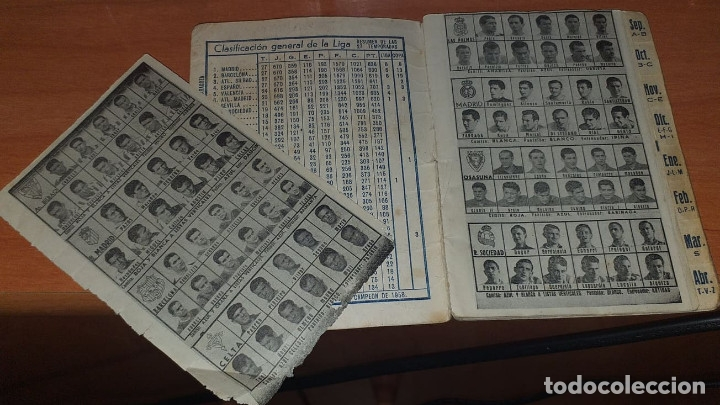 Coleccionismo deportivo: CALENDARIO DINAMICO TEMPORADA 1958-1959 CALENDARIO DE FUTBOL PRACTICO DINAMICO 1958--1959 - Foto 4 - 174975869