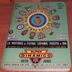 Coleccionismo deportivo: CALENDARIO DINAMICO LIGA FUTBOL 1979-1980. Lote 174977712