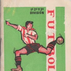 Coleccionismo deportivo: GUÍA FUTBOL 1964-65 EQUIPOS PARTIDOS LIGA COPA GENERALISIMO OBSEQUIO BARRACHINA, VALENCIA AA. Lote 175432508