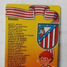 Coleccionismo deportivo: CALENDARIO DE BOLSILLO AÑO 1991.AT. DE MADRID. Lote 178147202