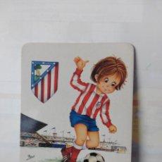 Coleccionismo deportivo: CALENDARIO DE BOLSILLO AÑO 1974. AT DE MADRID. Lote 178148648