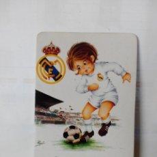 Coleccionismo deportivo: CALENDARIO DE BOLSILLO AÑO 1974 REAL MADRID. Lote 178152420