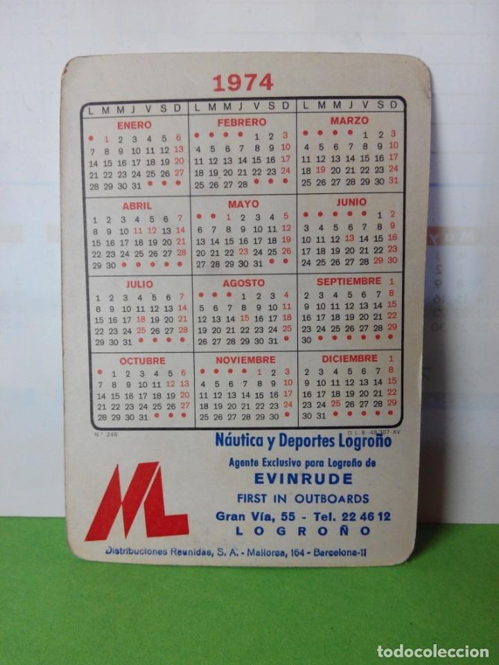 Coleccionismo deportivo: CALENDARIO DE BOLSILLO AÑO 1974 REAL MADRID - Foto 2 - 178152420