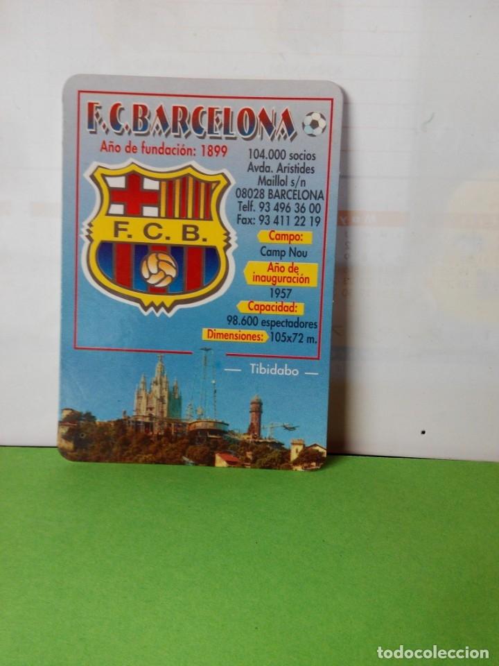 CALENDARIO DE BOLSILLO AÑO 2002 F.C.BARCELONA (Coleccionismo Deportivo - Documentos de Deportes - Calendarios)