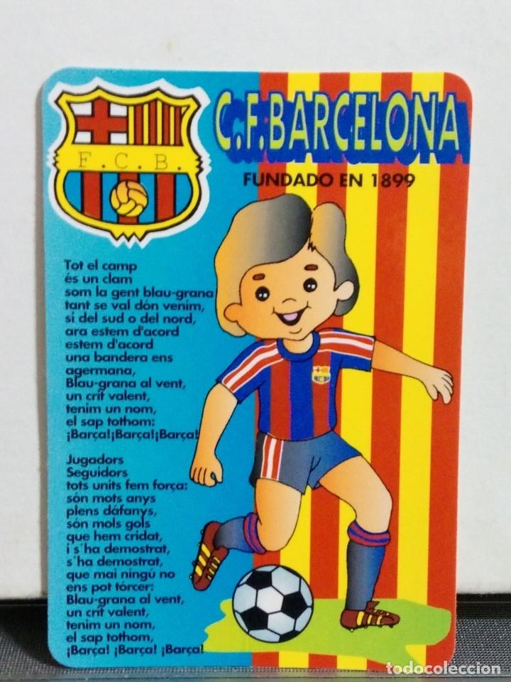 CALENDARIO DE BOLSILLO AÑO 1995 F.C.BARCELONA (Coleccionismo Deportivo - Documentos de Deportes - Calendarios)