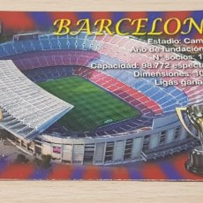 Coleccionismo deportivo: CALENDARIO BOLSILLO - FÚTBOL - FÚTBOL CLUB BARCELONA - AÑO 2013. Lote 178555710