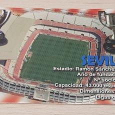 Coleccionismo deportivo: CALENDARIO BOLSILLO - FÚTBOL - SEVILLA FÚTBOL CLUB - AÑO 2013. Lote 178557260