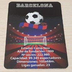 Coleccionismo deportivo: CALENDARIO BOLSILLO - FÚTBOL - FÚTBOL CLUB BARCELONA - AÑO 2016. Lote 178559938
